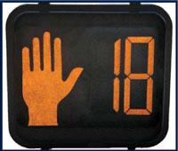 countdown pedestrian signal